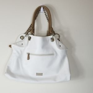 Large White Nine West tote Bag